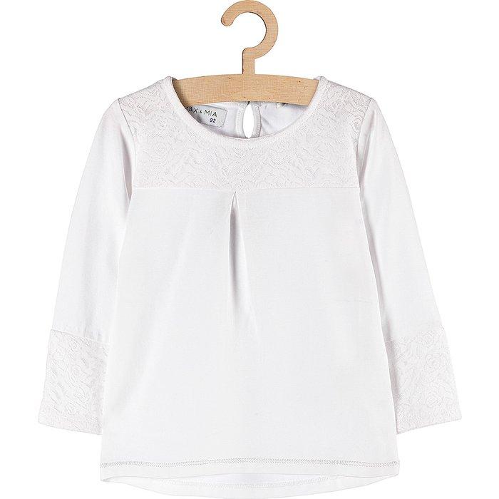 Bluzka dziewczęca biała 3H3702