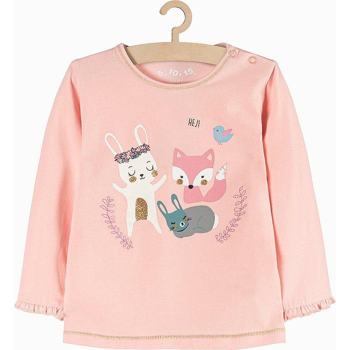 Bluzka niemowlęca różowa 6H3713