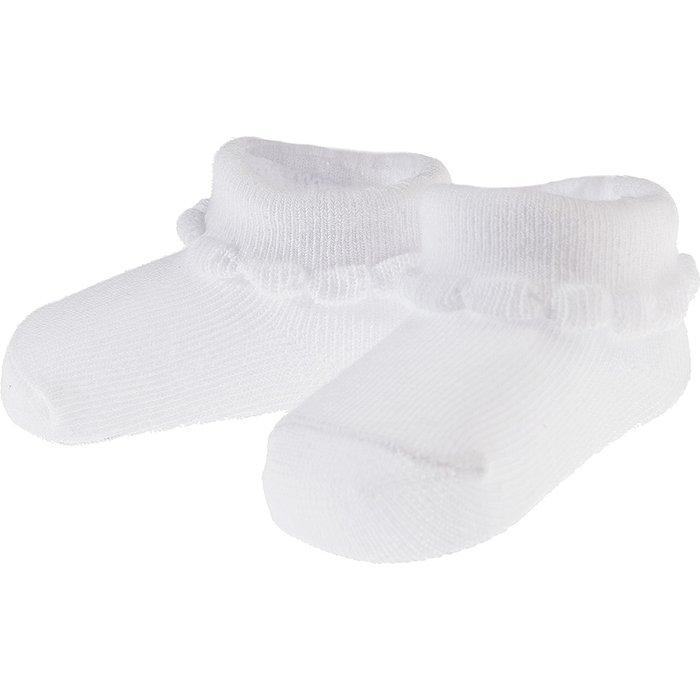 Skarpety niemowlęce białe 5V3531