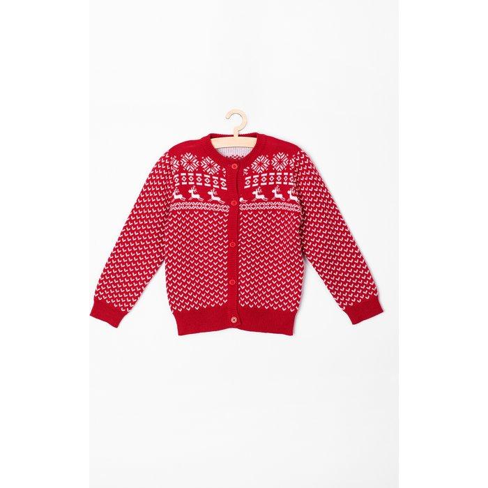 Sweter niemowlęcy w renifery 5C3702
