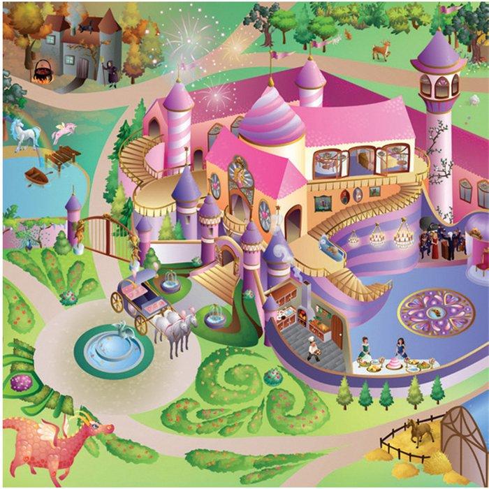 Mata do zabawy- Zamek księżniczki 3Y32EK