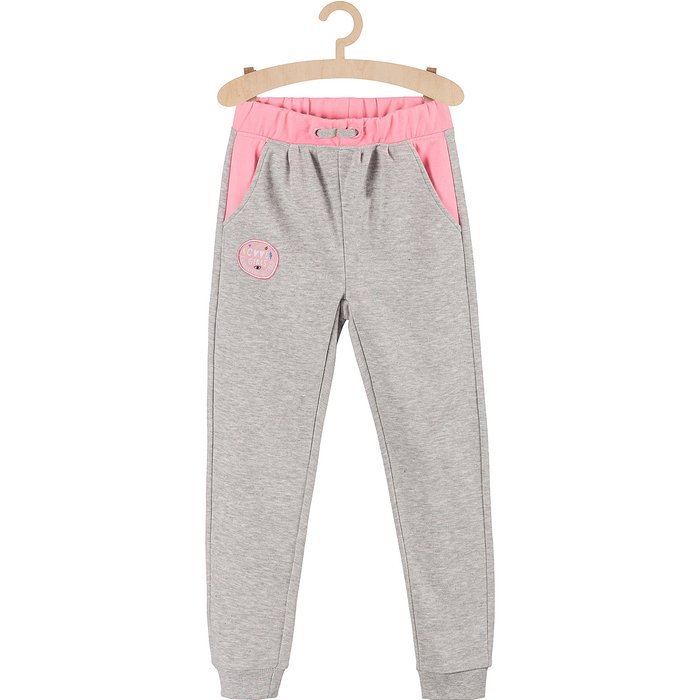 Spodnie dresowe dla dziewczynki 4M3701