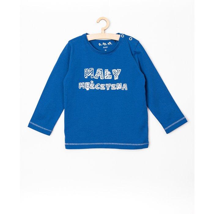 Bluzka niemowlęca niebieska 5H3806