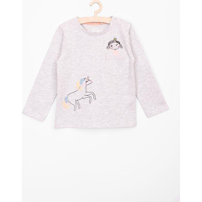 Bluzka dla niemowlaka- długi rękaw6H3707