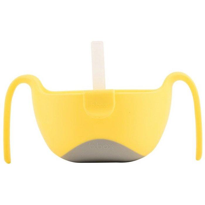 Miseczka ze słomką lemon sherbet 5O36TO