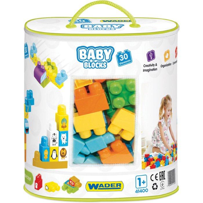 Klocki Baby Blocks - torba 30szt 1Y37DO