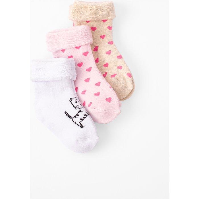 Skarpetki niemowlęce rózowe 6V3708