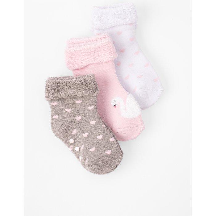 Skarpetki niemowlęce we wzory 6V3707