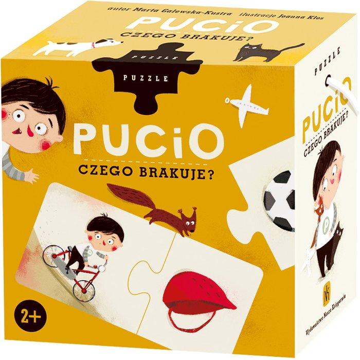"""""""Pucio"""" Puzzle: Czego brakuje? 1Y36M9"""