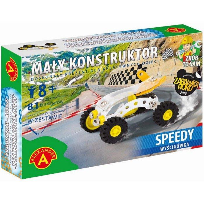 Mały konstruktor- wyścigówka 2Y33C3