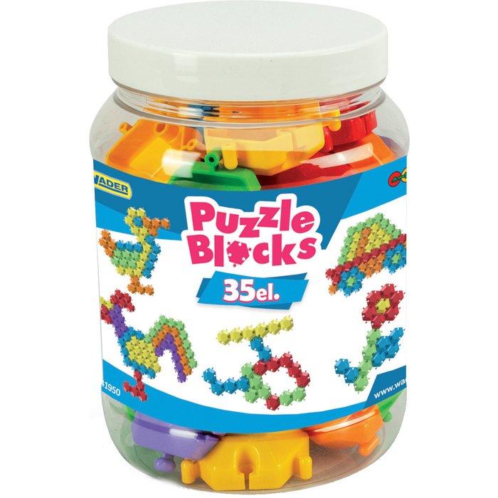 Klocki Puzzle-w słoiku małym 35el 5Y37B1