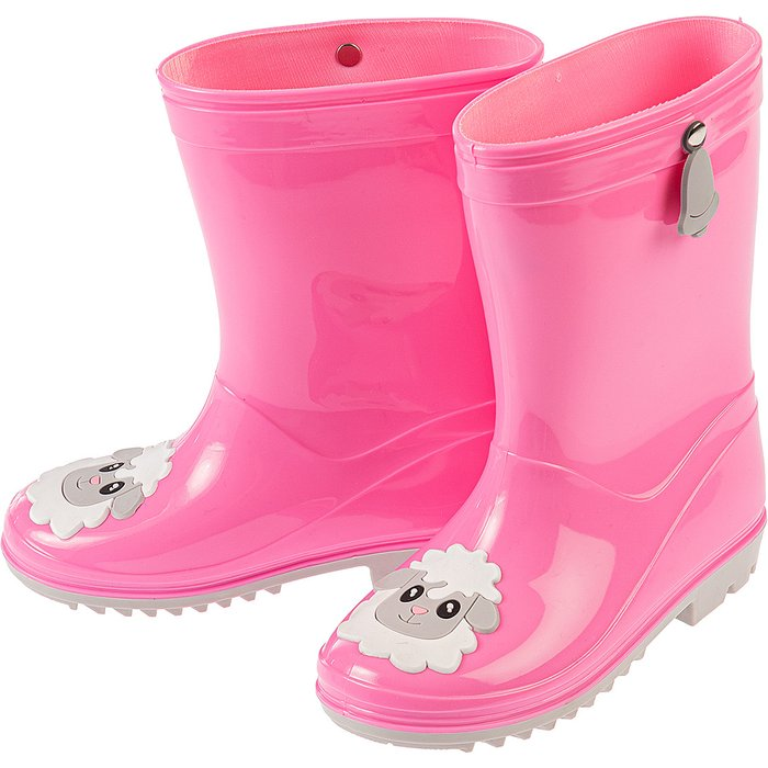 Kalosze dziewczęce różowe 3Z3714