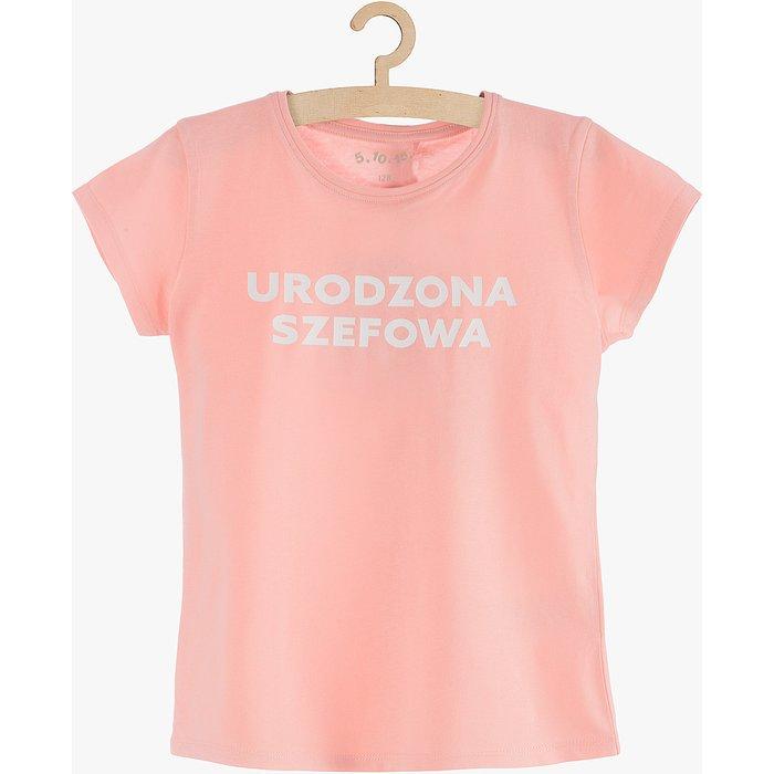 """T-shirt dziewczęcy """"Urodzona..."""" 3I3848"""