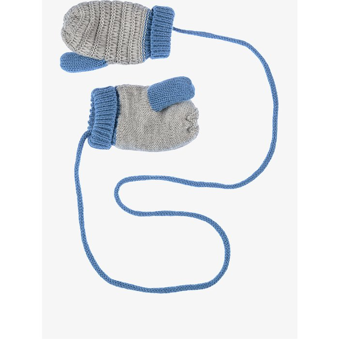 Rękawiczki niebieskie na sznurku 5X3720