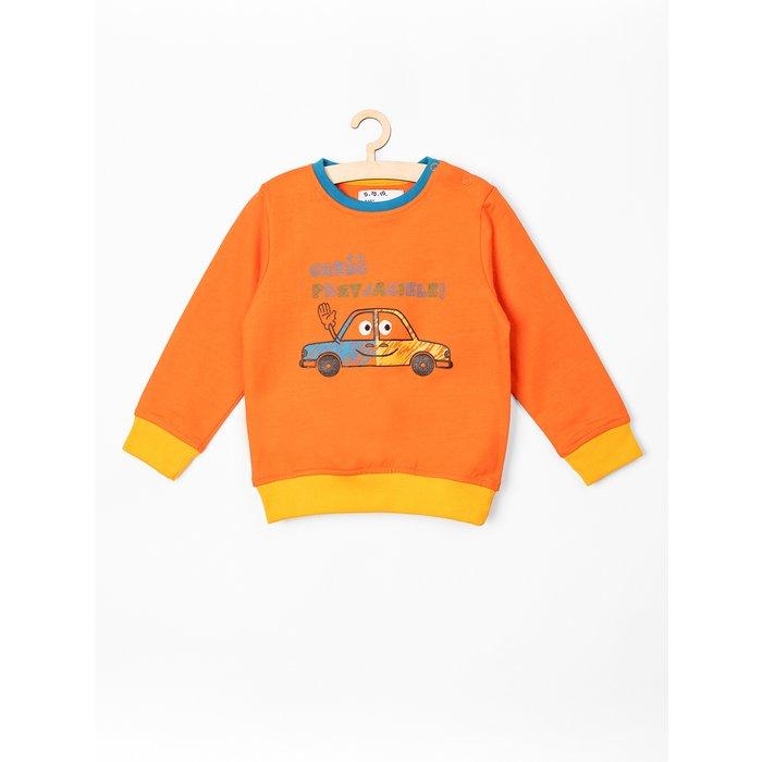 Bluza niemowlęca pomarańczowa 5F3802
