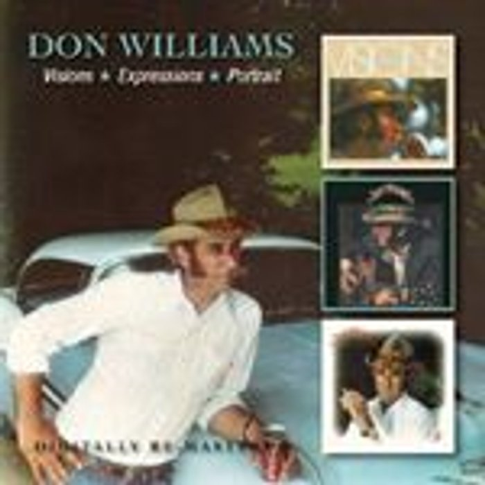 Don Williams Visions/expressions/portrait New CD