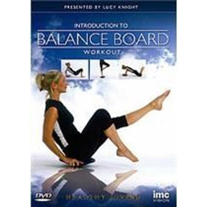 Lucy Knight Introduction to Balance Board Workout New  DVD