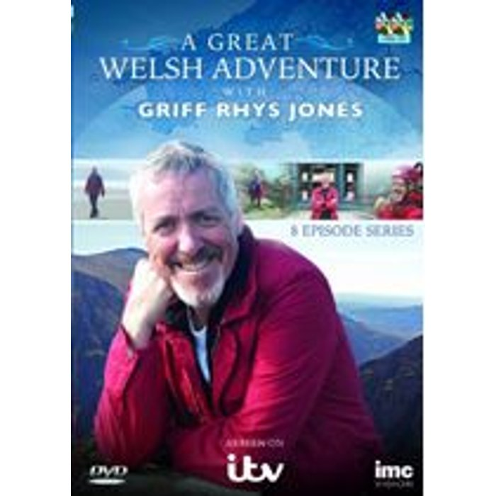 Griff Rhys Jones A Great Welsh Adventure with Griff Rhys Jones New  DVD