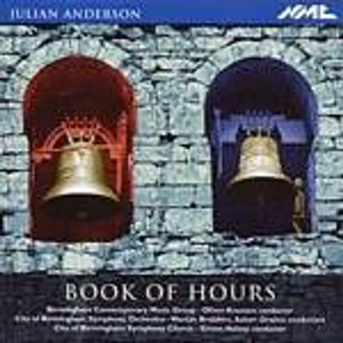 Julian Anderson Julian Anderson Book of Hours New CD