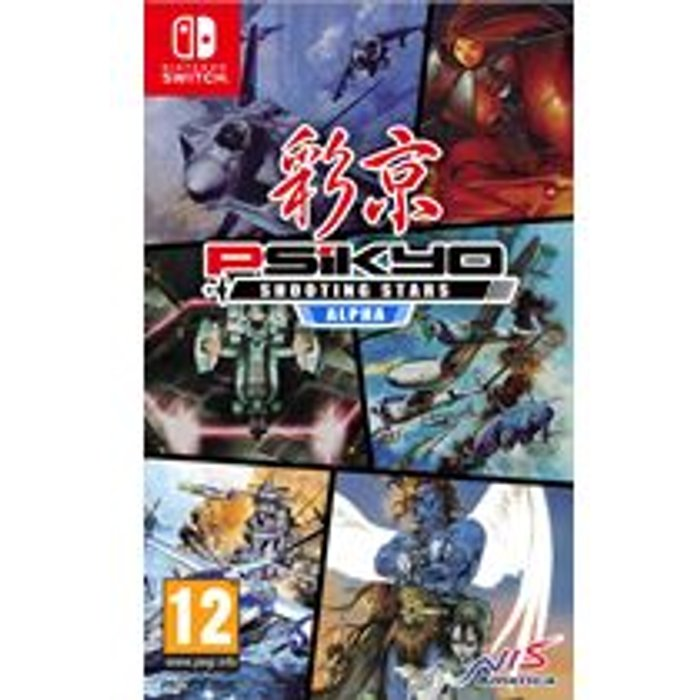 Psikyo Shooting Stars Alpha Limited Edition (Nintendo Switch)