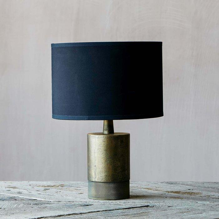 Benedict Short Bronze Bedside Table Lamp