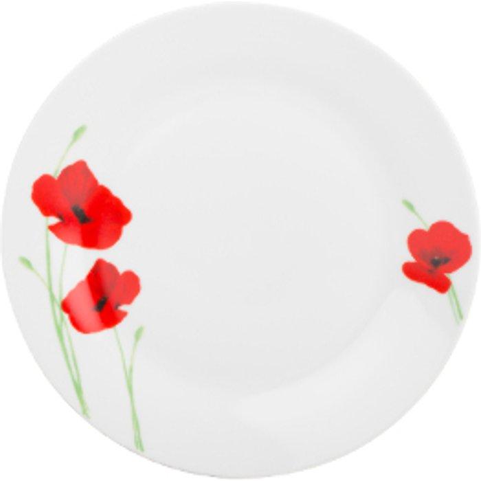 The Range Poppy Garden Dinner Plate