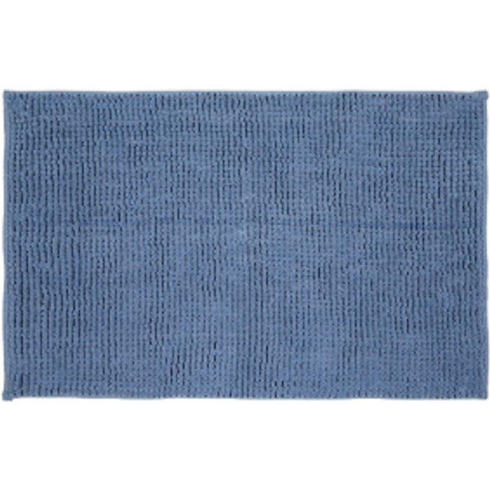 The Range Microchenille Bath Mat - Azure Blue