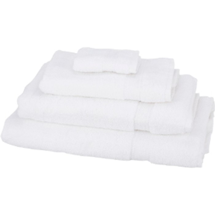 The Range Zero Twist Bath Sheet - White