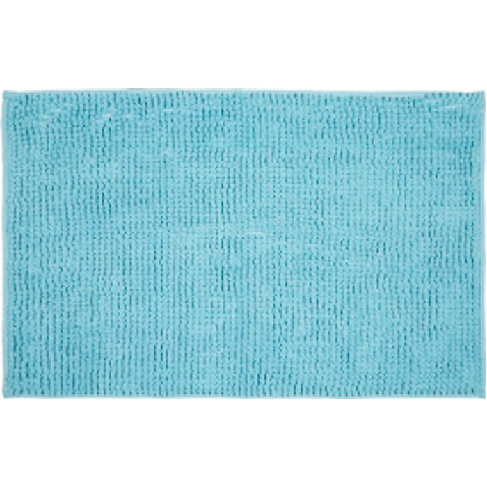 The Range Microchenille Bath Mat - Angel Blue