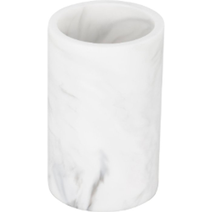 The Range Attica Marble Effect Tumbler - White