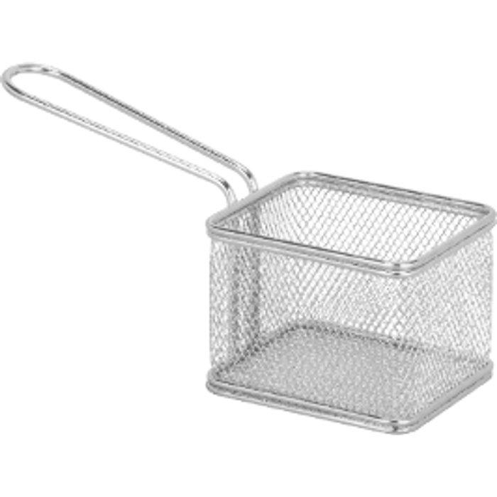 The Range Chip Basket - Chrome