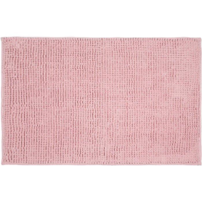 The Range Microchenille Bath Mat - Soft Pink
