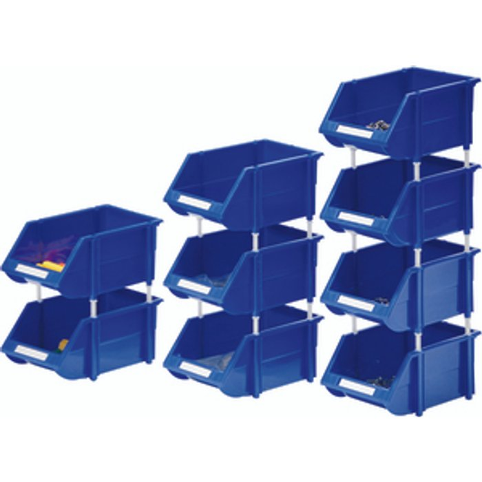 Slingsby Heavy Duty Storage Bin - Blue / 36
