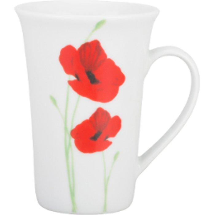 The Range Poppy Garden Tall Latte Mug