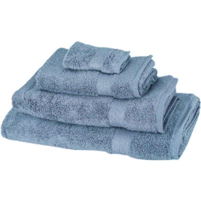 The Range Zero Twist Face Cloth - Allure Blue