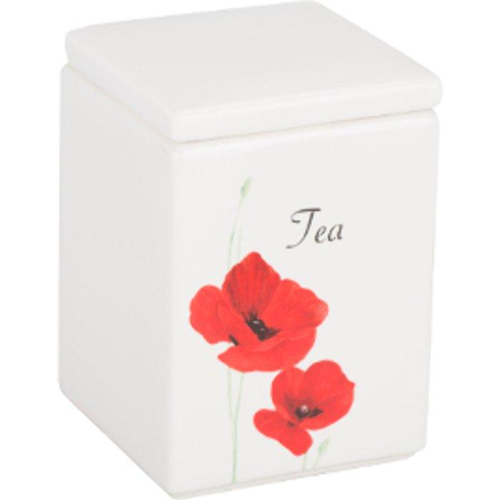 The Range Poppy Garden Tea Canister
