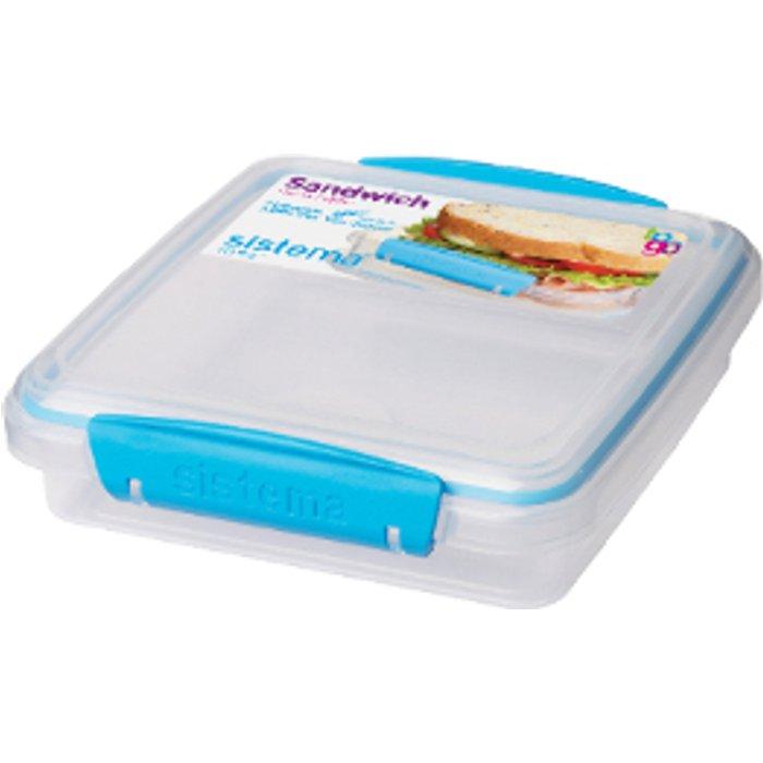 Sistema Sandwich Box To Go  - Blue