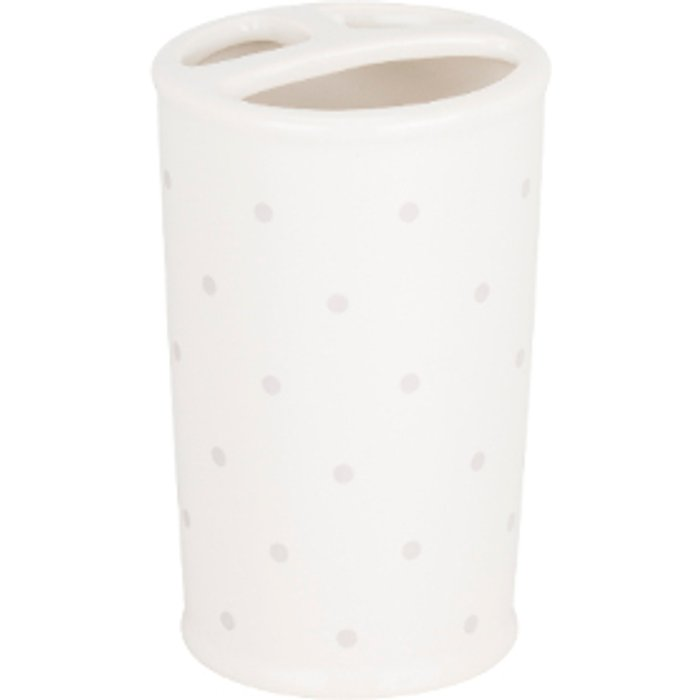 Victoria Rose Victoria Rose Toothbrush Holder - White