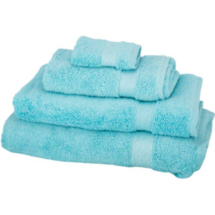 The Range Zero Twist Bath Sheet - Angel Blue