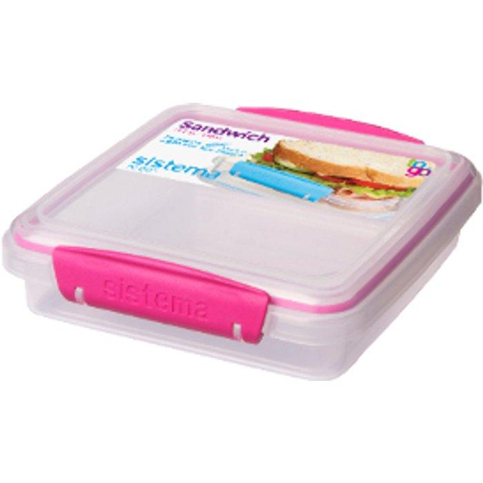 Sistema Sandwich Box To Go  - Pink