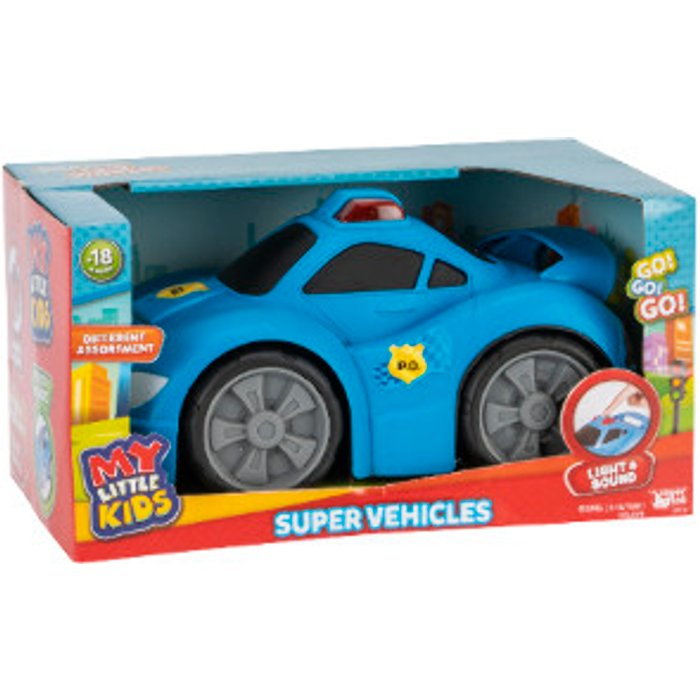 My Little Kids Super Vehicles