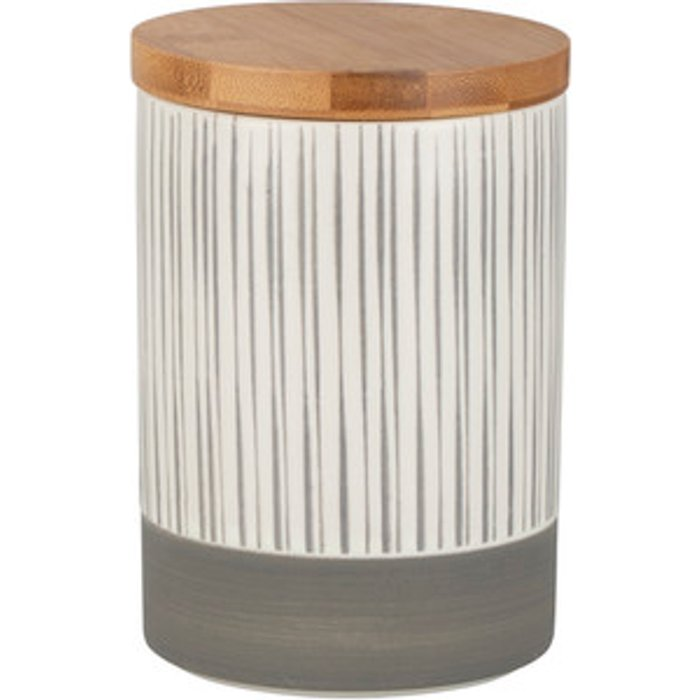 The Range Barbican Stone Canister with Bamboo Lid