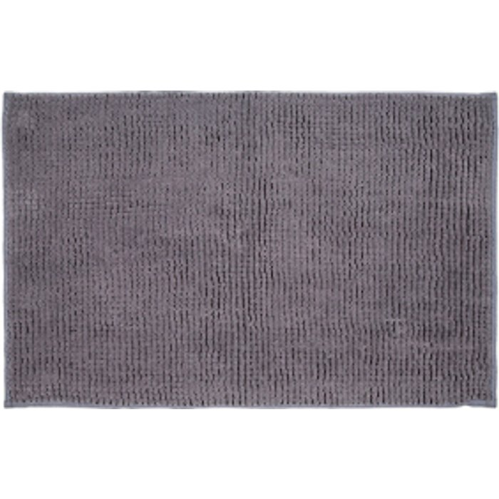 The Range Microchenille Bath Mat - Pewter