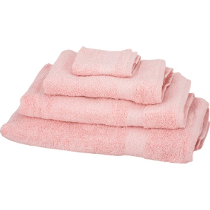 The Range Zero Twist Bath Towel - Soft Pink