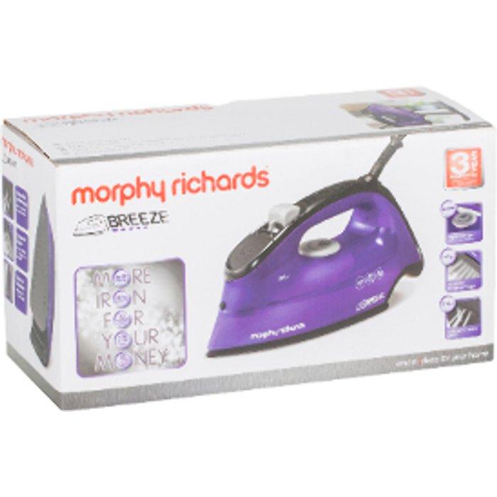 Morphy Richards Morphy Richards Breeze Steam Iron - Purple