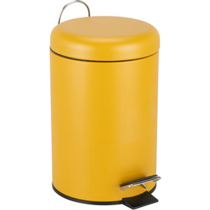 The Range 3L Dome Pedal Bin - Ochre