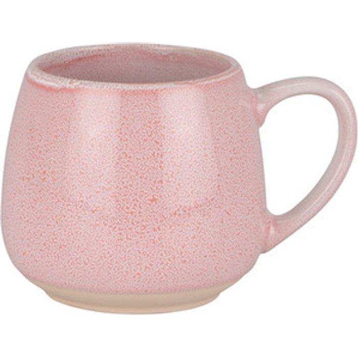 The Range Reactive Glaze Belly Mug - Pale Pink