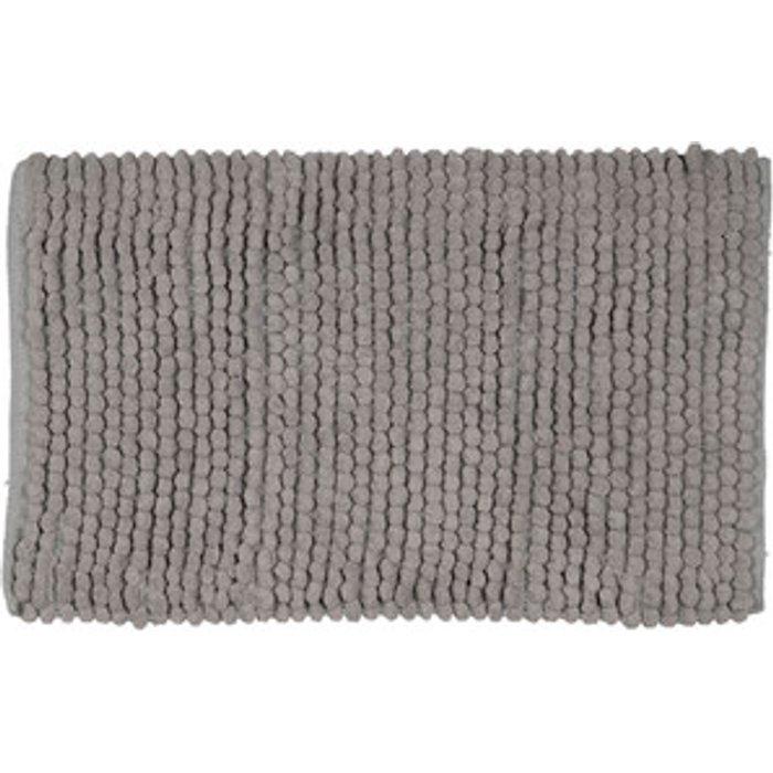 The Range Chunky Bobble Bath Mat - Ash Grey / Cotton Polyester