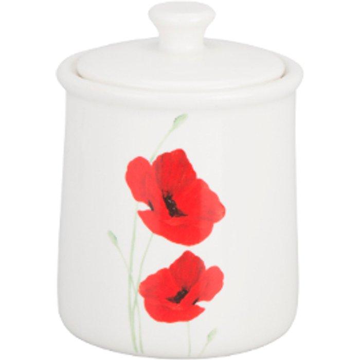 The Range Poppy Garden Sugar Bowl