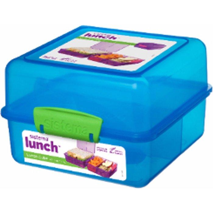 Sistema Lunch Cube - Blue